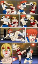 Sophia vs Ara III - 01 by JadeOwl