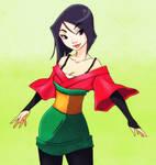 Mulan Doodle