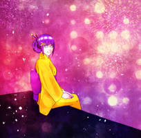 Hinata: Winter Festival by YukiHyo