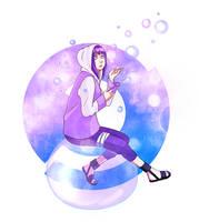 Hinata: Bubbles by YukiHyo
