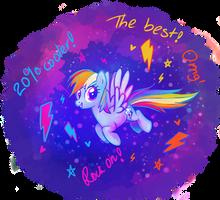 MLP: Rainbow Dash by YukiHyo