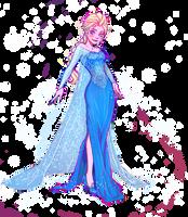 Frozen: Queen Elsa by YukiHyo