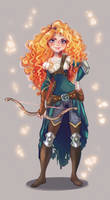 Merida the Archer by YukiHyo