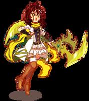 Commission: Caseysaurus by YukiHyo