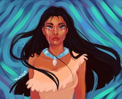 Pocahontas: Letting Go by YukiHyo