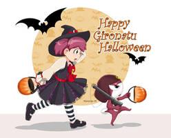 Gironatsu Halloween by G672