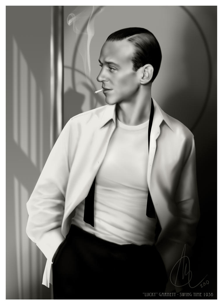 Fred Astaire As Lucky By G672 On Deviantart