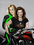 BikerJaneway and Seven of Nine by G672