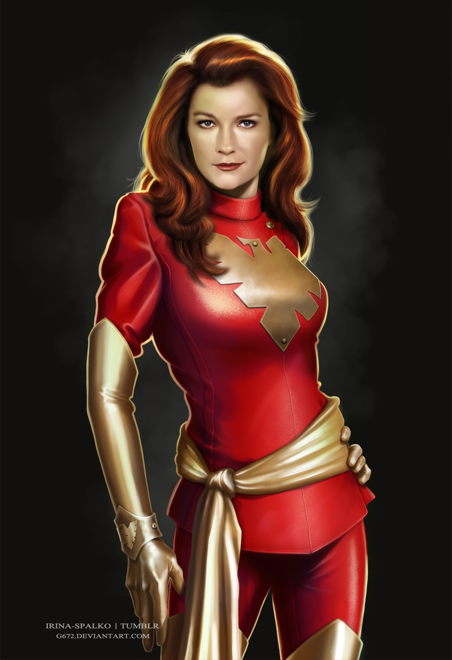 Janeway as Jean Grey by G672