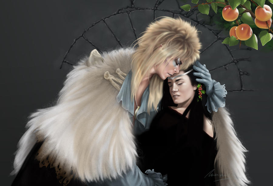 Jareth and Sarah - Farewell (unfinished) by G672