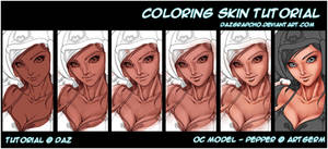Coloring Skin Tutorial with Mouse !