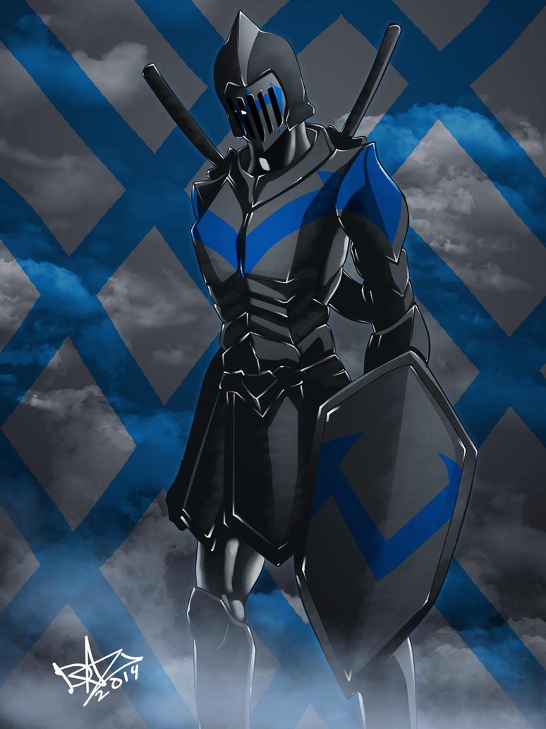 Knight-Wing(DC-Fanart) by dazgrapcho
