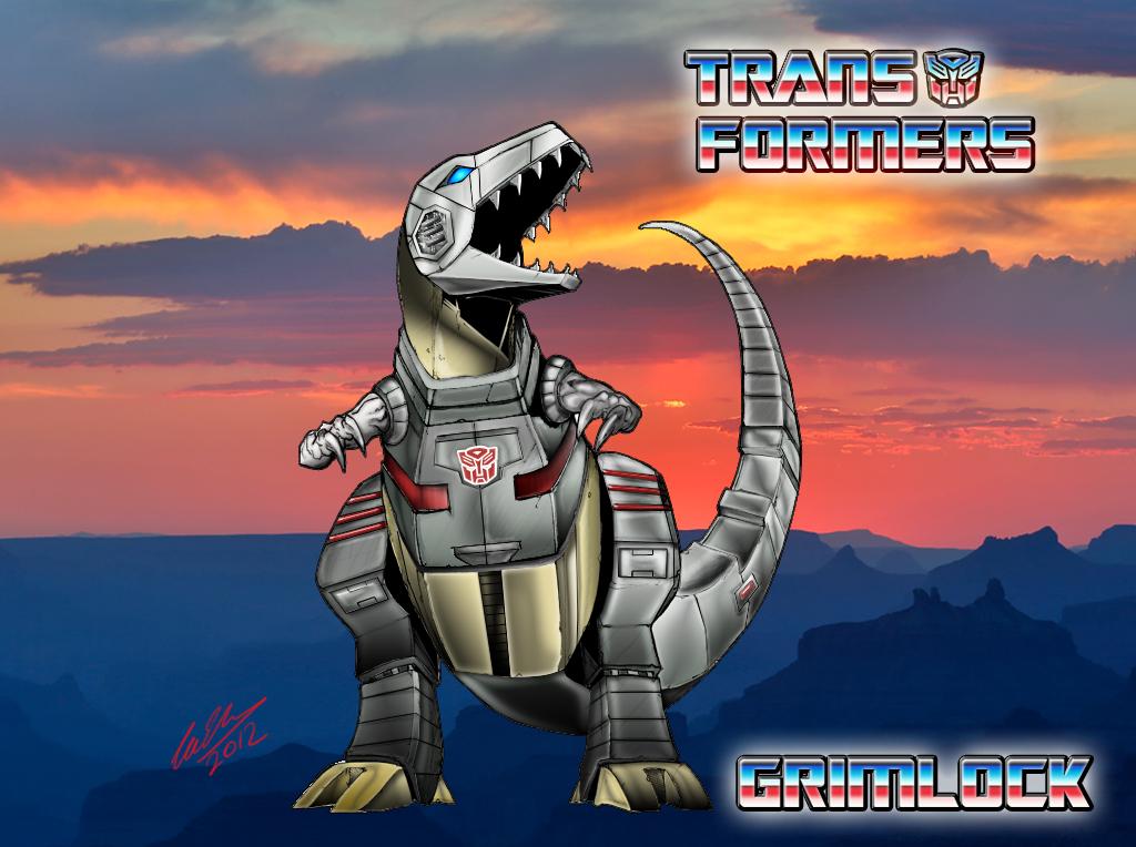 Transformers Dinobots Grimlock Autobot Dinobot Grimlock