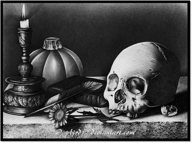 Skull Love by pbird12