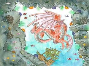 Underwater Coralldragon