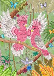 Parrots world