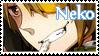 Neko : Nico Nico Utatie Fan Stamp by RiuBirby