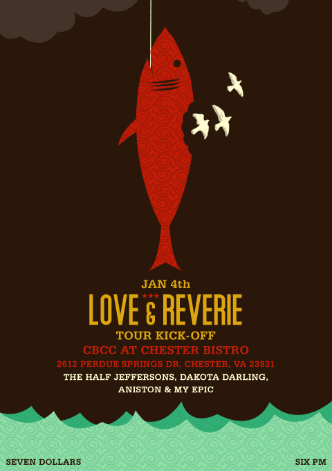 Love + Reverie - Tour Kick-off by agentfive