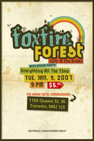 Foxfire Forest - flyer03 by agentfive