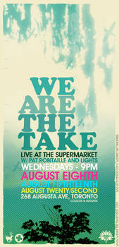 We Are The Take - Flyer 09