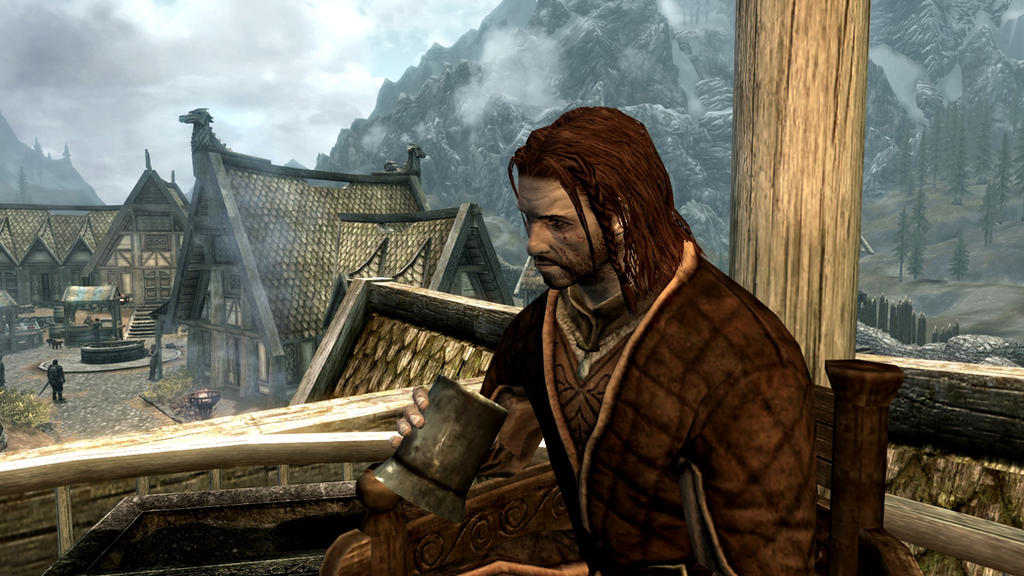 Konahrik of Whiterun (Skyrim) by KonahrikTheRevered on