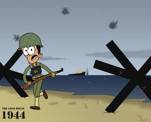 Bobby In Normandy by KrDoz
