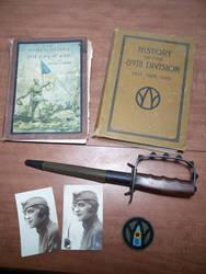 WW1 89th Division Stuff