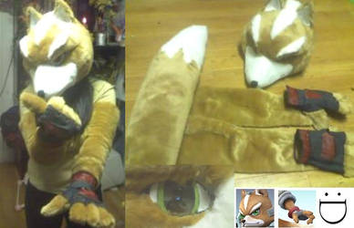 5o percent done Fox McCloud by ProtoCall13o2