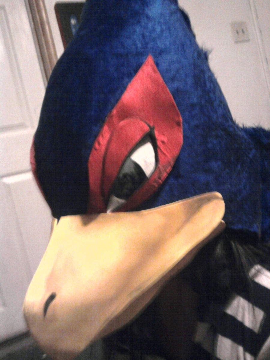 Falco's mask by ProtoCall13o2