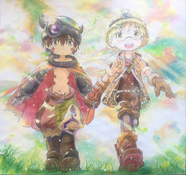 Reg and Riko (Made in Abyss)