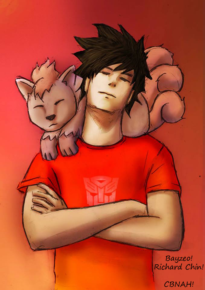 Brock and Vulpix by AdamBayes