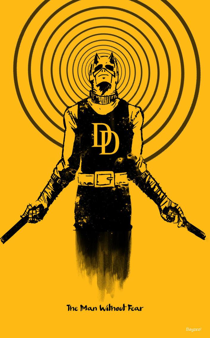 Daredevil : Original yellow. by AdamBayes