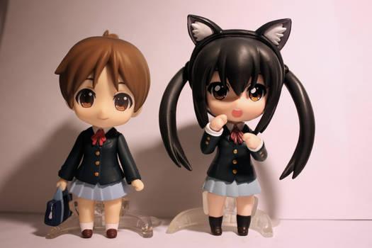 Ui Hirasawa and Azusa Nakano