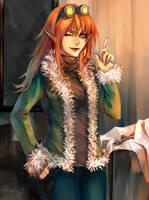 Commission: Fox by Harumagai