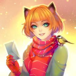 Fox mail by Harumagai