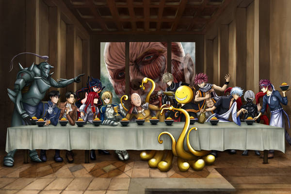The Last Supper - Anime crossover version