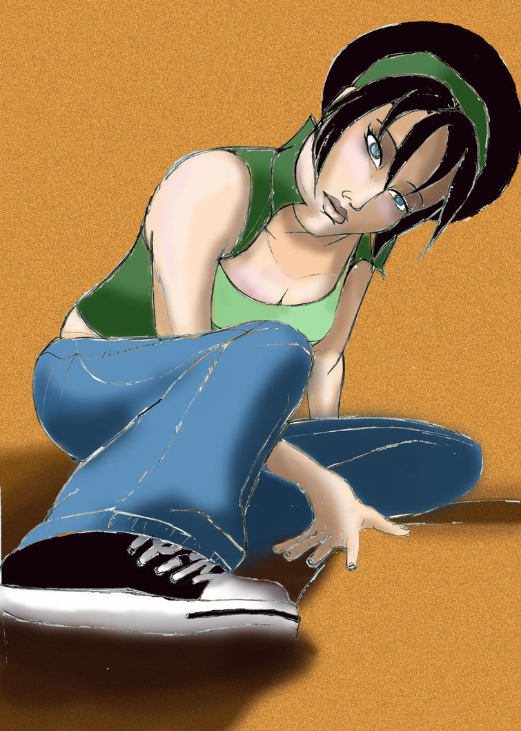 Toph Colored by ChocolateReeses