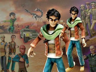 Gunsmith. Arab animation by caolah