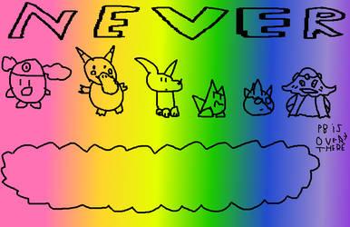 Never: Taste the Rainbow? by Topmonhit