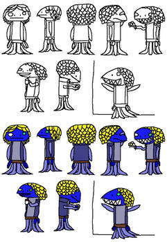 Mince Design Sketches