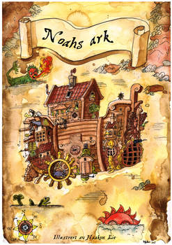Noahs ark book cover