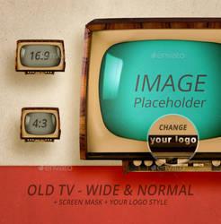 Old TV - Wide n Normal