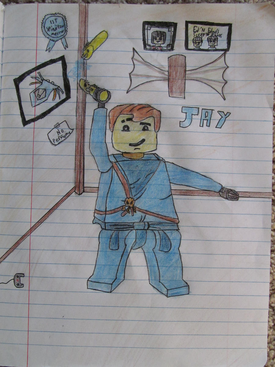 Lego Ninjago Jay Drawing By Eagleeyedan Lego Ninjago Jay Drawing By  Eagleeyedan
