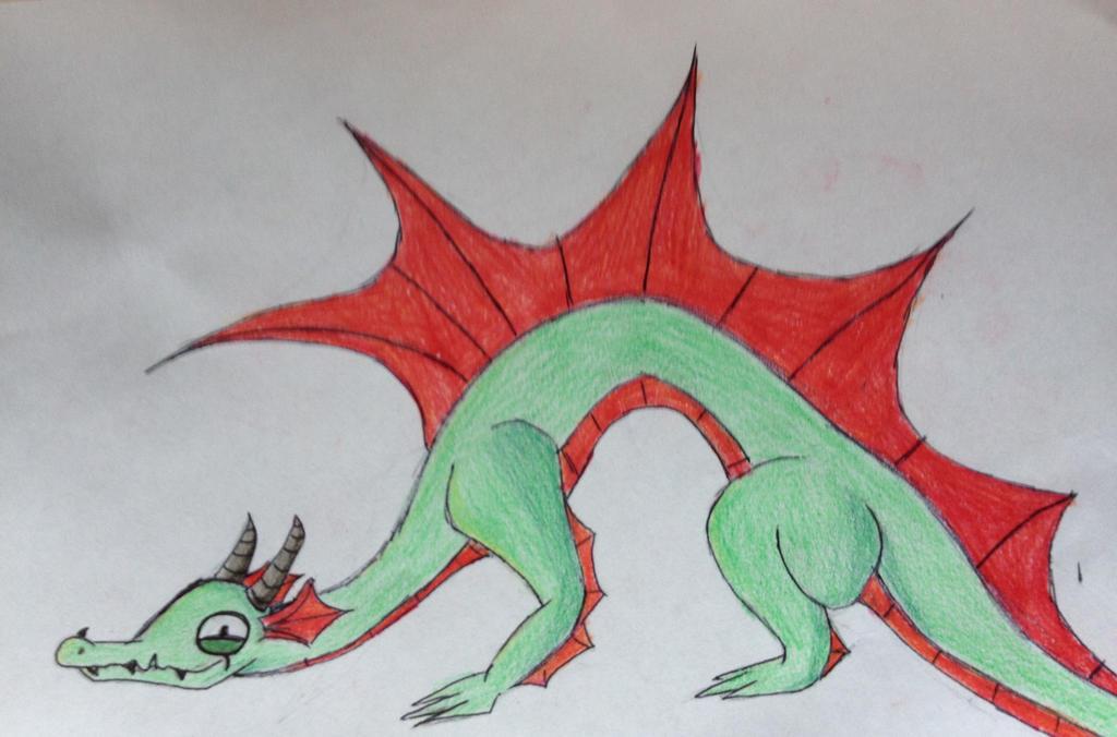 Crouching Dragon....Drake? by TTheFaceless