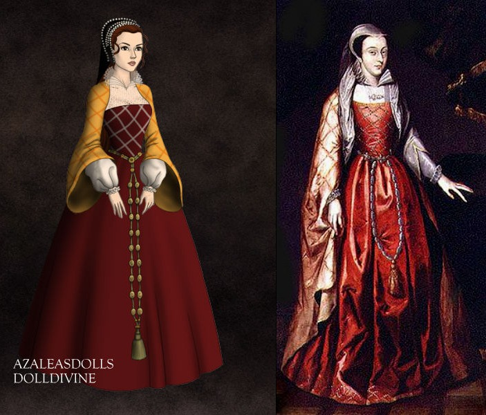 Younger Mary Queen of Scots by TheHemophageress
