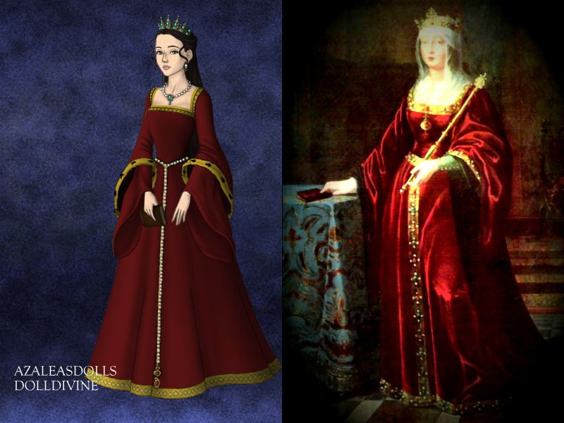 Younger Isabella I of Castile by TheHemophageress