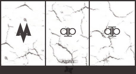 Logo for Alpha by O4x4ca