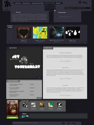 Website V2 by O4x4ca