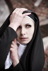 Gothic Nun Stock