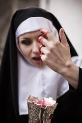 Gothic Nun Blood Stock